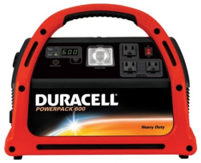 600 watt Duracell power pack