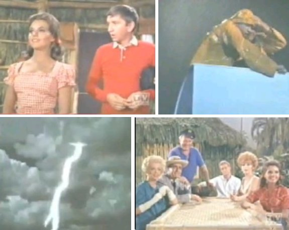 Gilligan's Island photo montage Marry Ann Giligan