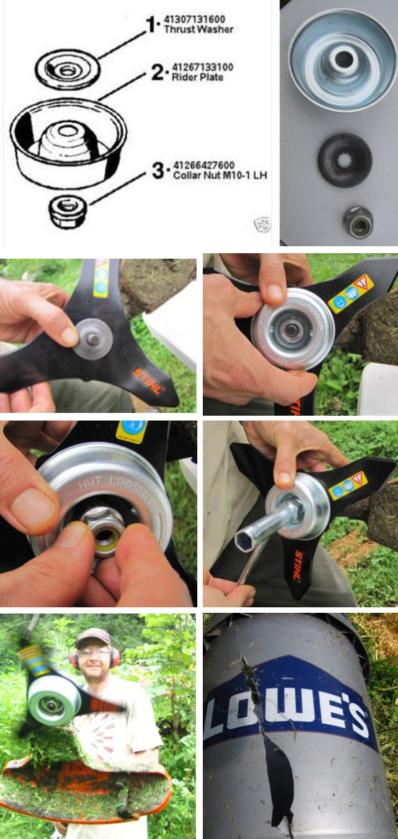 Weedeating ninja blade thrust washer keyboard keysfo Images