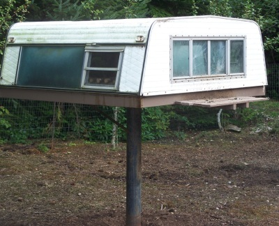 cheap easy living solution for chickens?