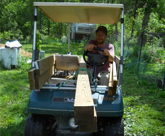 jousting with a golf cart can be fun and profitable