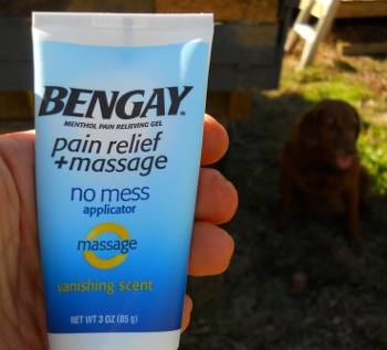 Ben Gay back pain relief remedy
