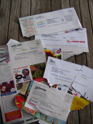 Catalog mailing labels