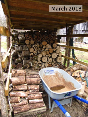 March woodshed