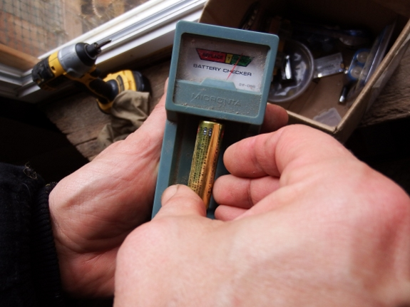old Radio Shack battery tester AKA Enercell