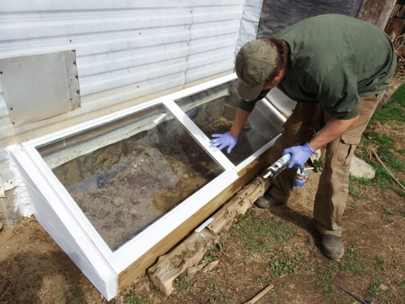 cold frame crack sealage