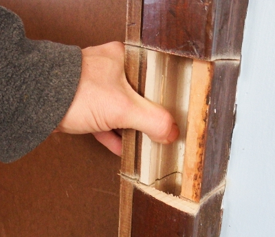 Hollow door frame