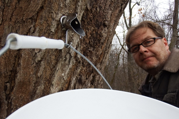 Sugar Maple tapping in south east Ohio.
