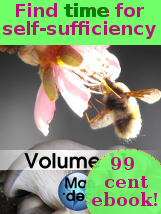 Find time for self-sufficiency with our 99 cent ebook!