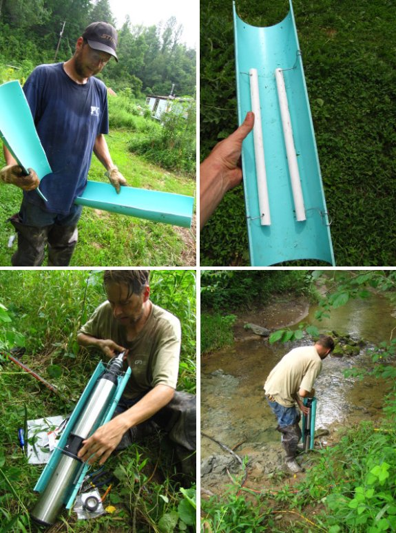 How To Pump Water Out Of A Creek
